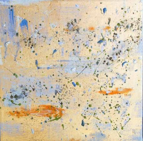 Madelyn Jordon Fine Art Michelle Sakhai: Treasured Elements Mini Koi