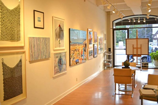 Madelyn Jordon Fine Art SURF & TURF Installation Shot 11
