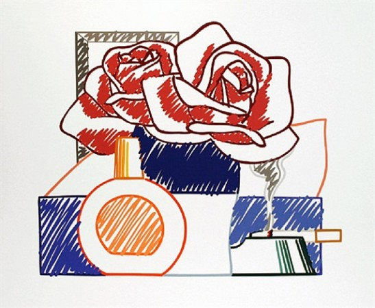 Madelyn Jordon Fine Art 2016, in with a POP!   TOM WESSELMANN Scribble Version of Still Life