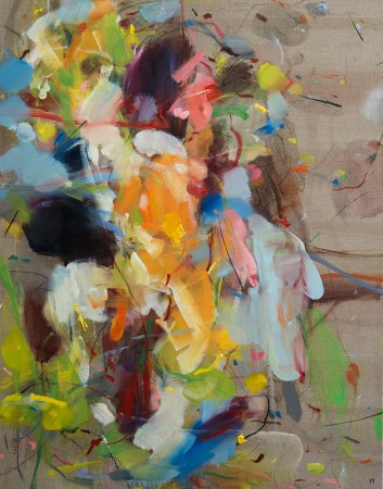 Madelyn Jordon Fine Art YANGYANG PAN :East Meets West in Contemporary Abstraction Simple Joys