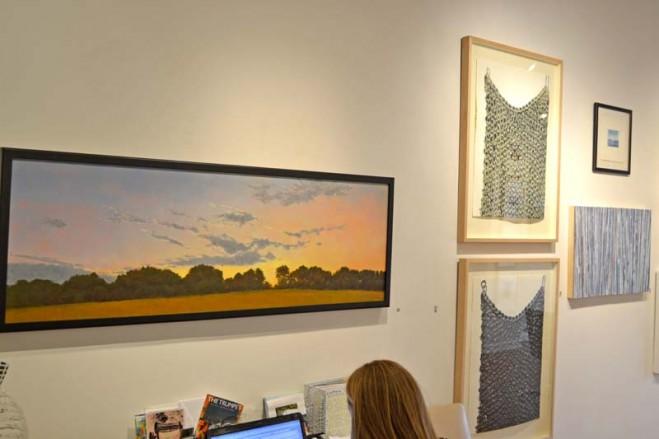 Madelyn Jordon Fine Art SURF & TURF Installation Shot 10