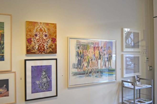 Madelyn Jordon Fine Art SURF & TURF Installation Shot 1