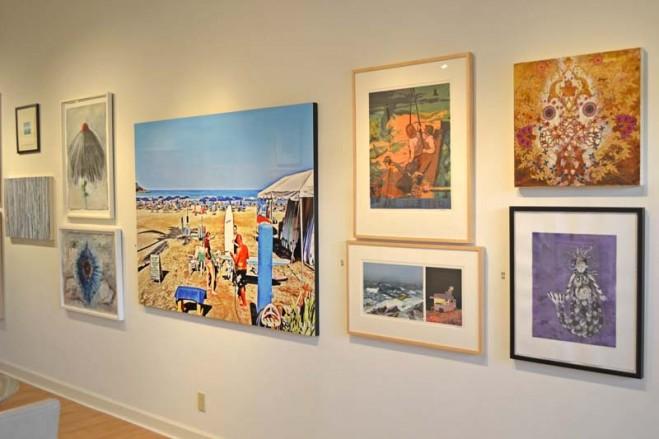 Madelyn Jordon Fine Art SURF & TURF Installation Shot 2