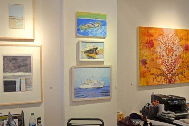 Madelyn Jordon Fine Art SURF & TURF Installation Shot 7