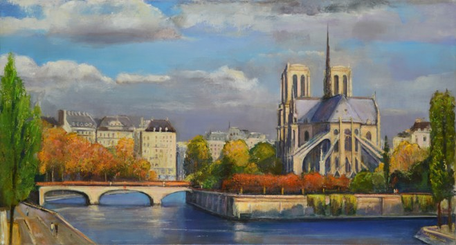 Madelyn Jordon Fine Art LAWRENCE KELSEY: An American in Paris