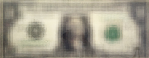 Madelyn Jordon Fine Art LOCAL/GLOBAL: A Group Exhibition Tom Friedman, Untitled (Dollar Bill)