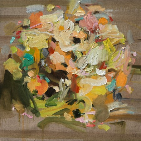 Madelyn Jordon Fine Art YANGYANG PAN :East Meets West in Contemporary Abstraction Under Lemon Tree