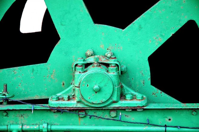 Madelyn Jordon Fine Art SURF & TURF Eugene Healy, Untitled (Green Train)