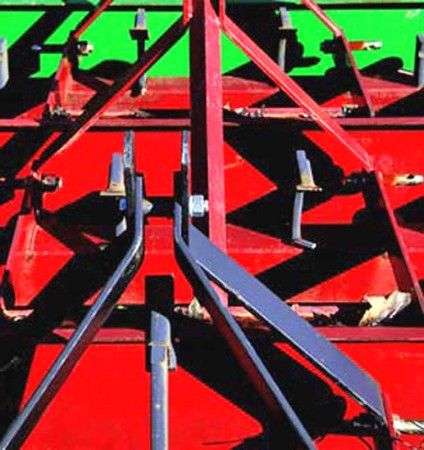 Madelyn Jordon Fine Art SURF & TURF Eugene Healy, Untitled (Red and Green Train)