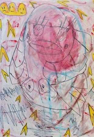 Madelyn Jordon Fine Art ADAM HANDLER: BETWEEN NIGHTMARES AND FAIRY TALES Fluttering Eyes At Kitchawan