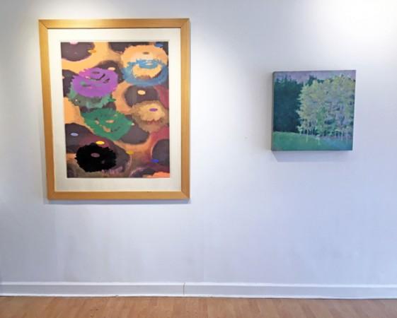 Madelyn Jordon Fine Art IN DIALOGUE Install