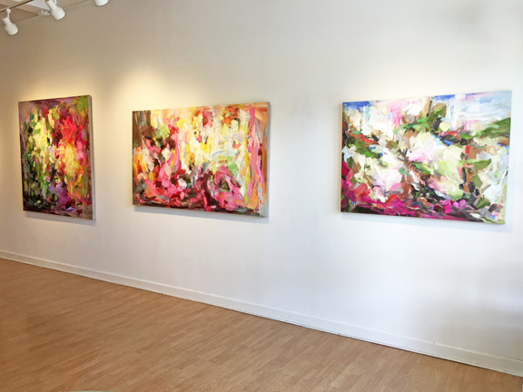 Madelyn Jordon Fine Art YANGYANG PAN : THE UNVEILING Install