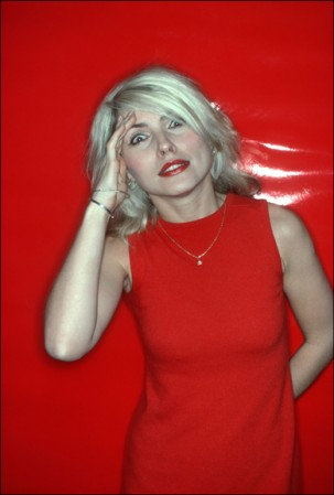 Madelyn Jordon Fine Art ALLAN TANNENBAUM: GRIT AND GLAMOUR Debbie Harry, Red Salute