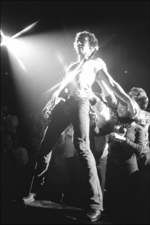 Madelyn Jordon Fine Art ALLAN TANNENBAUM: GRIT AND GLAMOUR Bruce Springsteen at the Palladium