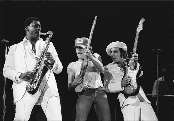 Madelyn Jordon Fine Art ALLAN TANNENBAUM: GRIT AND GLAMOUR Bruce Springsteen E Street Trio
