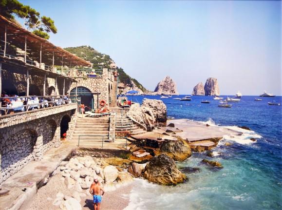 Madelyn Jordon Fine Art DJ Leon Beach Club, Capri