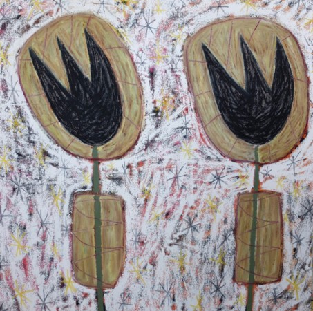 Madelyn Jordon Fine Art ADAM HANDLER: REBEL REBEL Gentlemen Tulips