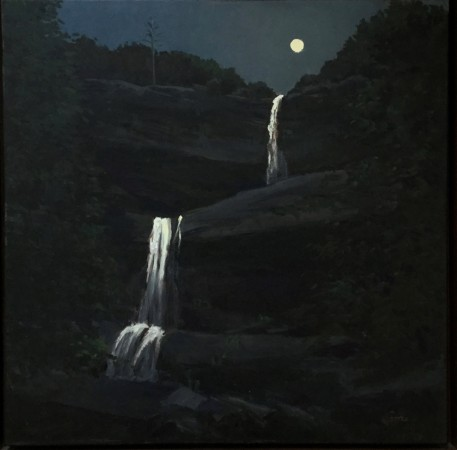 Madelyn Jordon Fine Art STAGING NATURE: A WORLD UNTO ITSELF Kaaterskill Moon