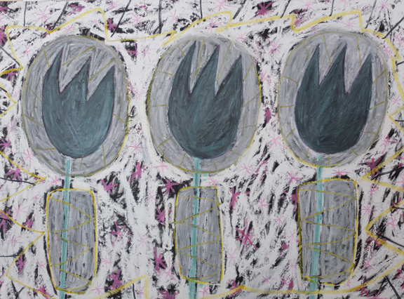 Madelyn Jordon Fine Art ADAM HANDLER: REBEL REBEL Space Tulips