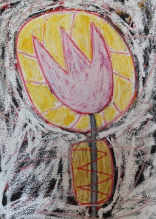 Madelyn Jordon Fine Art ADAM HANDLER: REBEL REBEL Sunlight Before Sunset Tulip