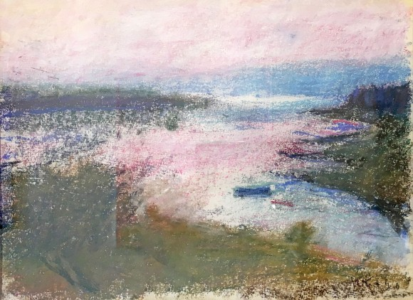 Madelyn Jordon Fine Art STAGING NATURE: A WORLD UNTO ITSELF Pink Dusk