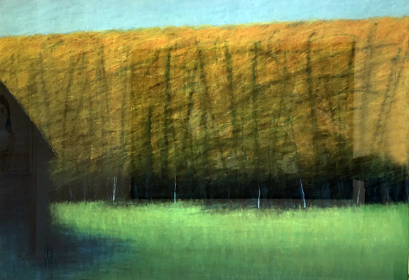 Madelyn Jordon Fine Art LOCAL/GLOBAL: A Group Exhibition Ted Larsen, Blue Barn