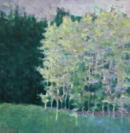 Madelyn Jordon Fine Art IN DIALOGUE Ken Elliott, Green Dream