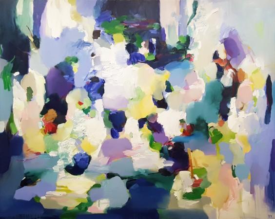"Madelyn Jordon Fine Art CONTEXT: Art Miami, Nov 29- Dec 4, 2016 YangYang Pan, ""The Watery Edge"""