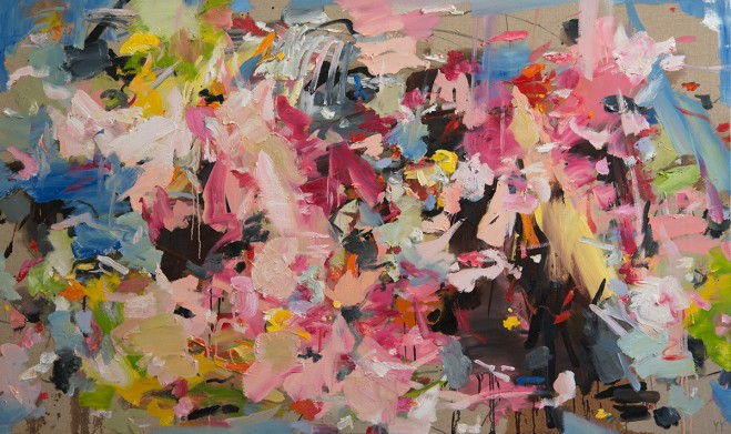 Madelyn Jordon Fine Art YANGYANG PAN :East Meets West in Contemporary Abstraction Ray of Hope