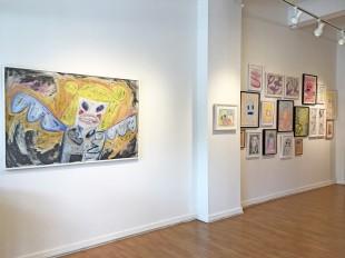Madelyn Jordon Fine Art HUNT SLONEM: BUNNIES, BIRDS, and BUTTERFLIES