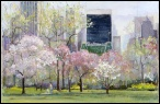 Madelyn Jordon Fine Art Lawrence Kelsey: New York in Bloom