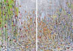 Madelyn Jordon Fine Art Michelle  Sakhai         East Meets West Part I and II (Diptych)