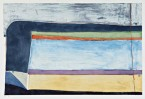 Madelyn Jordon Fine Art In the Country, By the Sea-- Parts I and II Richard Diebenkorn Indigo Horizontal