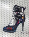 "Madelyn Jordon Fine Art 3D Holiday KENG LAU, ""Concord Stiletto"""