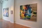 Madelyn Jordon Fine Art YANGYANG PAN :East Meets West in Contemporary Abstraction Install 3