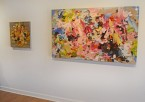 Madelyn Jordon Fine Art YANGYANG PAN :East Meets West in Contemporary Abstraction Install 6