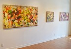 Madelyn Jordon Fine Art YANGYANG PAN :East Meets West in Contemporary Abstraction Install 8