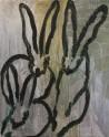 Madelyn Jordon Fine Art HUNT SLONEM: BUNNIES, BIRDS, and BUTTERFLIES Untitled