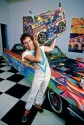 Madelyn Jordon Fine Art ALLAN TANNENBAUM: GRIT AND GLAMOUR Kenny Scharf, Boombox and Cadillac