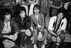 Madelyn Jordon Fine Art ALLAN TANNENBAUM: GRIT AND GLAMOUR The Rolling Stones visit Danceteria in New York City