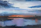 Madelyn Jordon Fine Art IN DIALOGUE Lawrence Kelsey, Summer Midnight, Stockholm Sweden