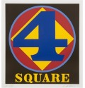 Madelyn Jordon Fine Art 2016, in with a POP!   ROBERT INDIANA Square