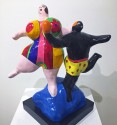 Madelyn Jordon Fine Art LOCAL/GLOBAL: A Group Exhibition Niki de Saint Phalle, Les Baigneurs (The Bathers)