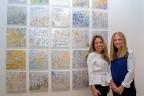 Madelyn Jordon Fine Art Michelle Sakhai: Treasured Elements Install 6