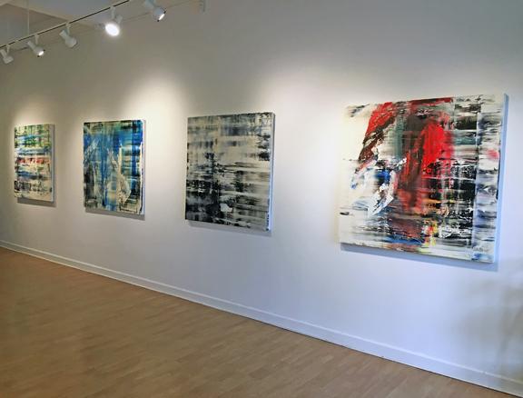 Madelyn Jordon Fine Art ANTONIO CARREÑO: INSTINCT Install 3