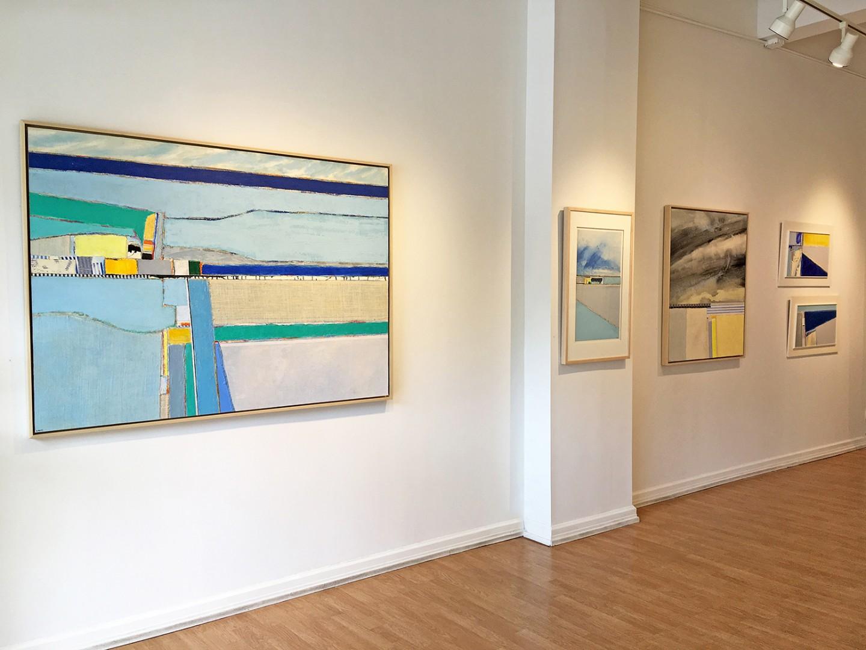 Madelyn Jordon Fine Art EUGENE HEALY: STEADY AS SHE GOES Install 1