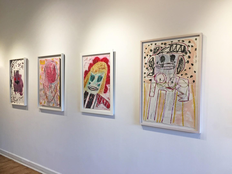 Madelyn Jordon Fine Art ADAM HANDLER: BETWEEN NIGHTMARES AND FAIRY TALES Install 13