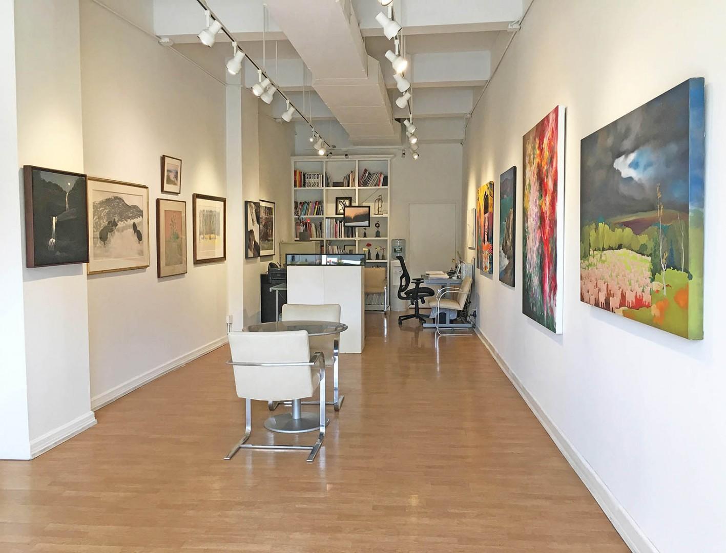 Madelyn Jordon Fine Art STAGING NATURE: A WORLD UNTO ITSELF Install 13