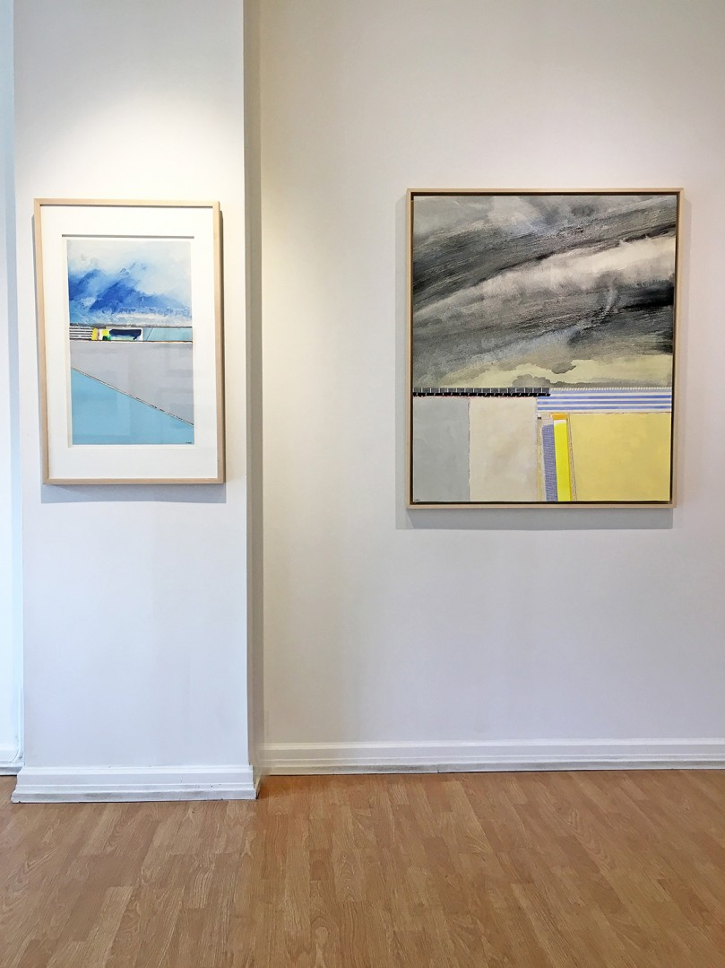 Madelyn Jordon Fine Art EUGENE HEALY: STEADY AS SHE GOES Install 2
