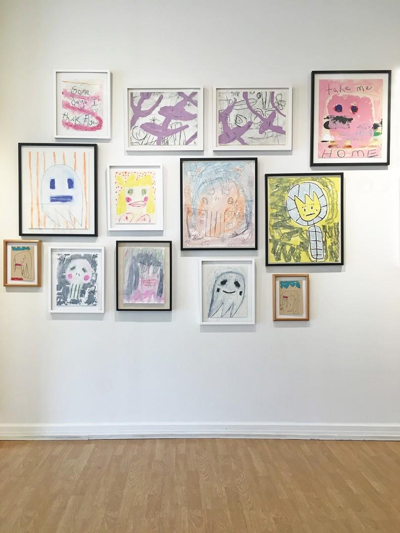 Madelyn Jordon Fine Art ALLAN TANNENBAUM: GRIT AND GLAMOUR Install